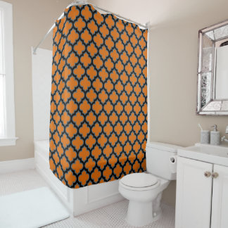 Moroccan Mosaic Ethnic Style Shower Curtain