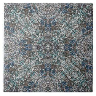 Moroccan noble romantic mandala pattern tile