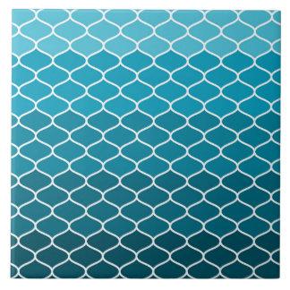 Moroccan pattern large square tile