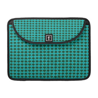 Moroccan Turquoise Scale Pattern Sleeve For MacBooks