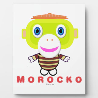 Morocko Display Plaque