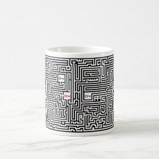 Morphing Maze Coffee Mug