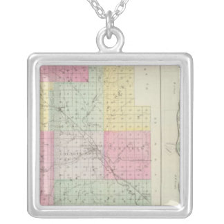 Morris County, Council Grove, Kansas Silver Plated Necklace