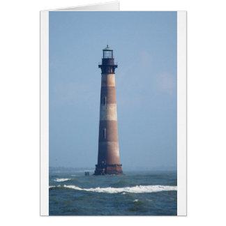 Morris Island Lighthouse Card