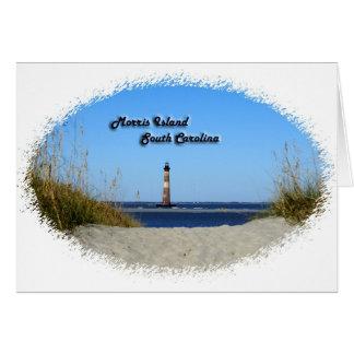 Morris Island -Lighthouse Card