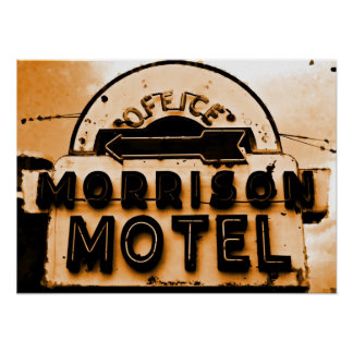 Morrison Motel: A Doors Tribute Poster