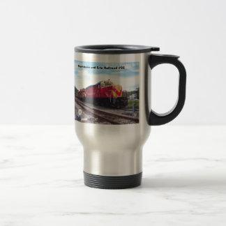 Morristown and Erie Railroad Engine #22 Coffee Mug