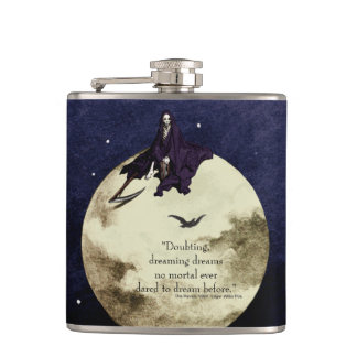 Mortality and the Moon Hip Flask