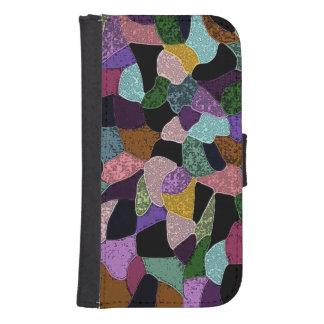 Mosaic Collage Samsung S4 Wallet Case