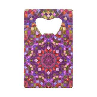 Mosaic  Kaleidoscope    Credit Card Openers