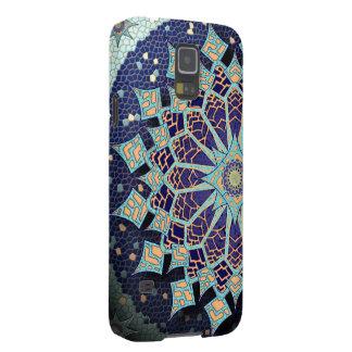 Mosaic Mandala in Blue Phone Case