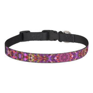 Mosaic Pattern   Dog Collars, 3 sizes Dog Collars