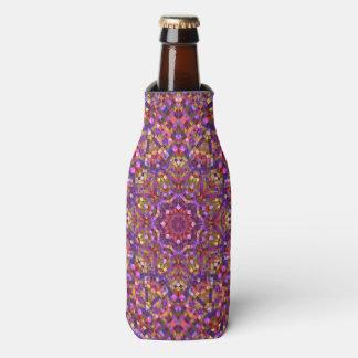 Mosaic Pattern  Kaleidoscope  Bottle Cooler