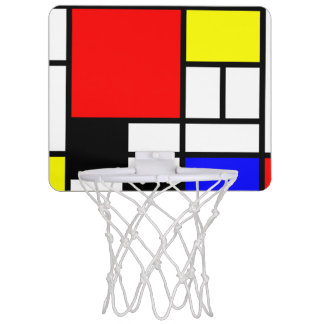 MOSAIC rectangles squares colored I + your ideas Mini Basketball Hoop