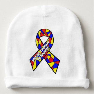 Mosaic Trisomy Awareness Baby Hat Baby Beanie
