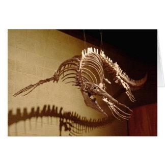 Mosasaur - Sea Lizard Greeting Cards