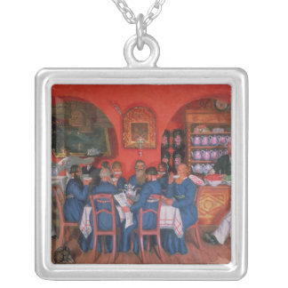 Moscow Cafe, 1916 Silver Plated Necklace