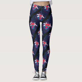 MOSQUITOS 2 CUTE ALIEN MONSTER CARTOON Leggings