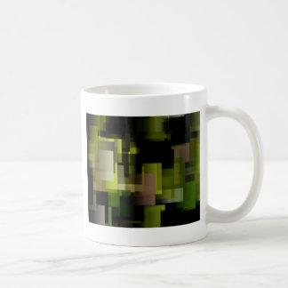 Moss Cubes Coffee Mug