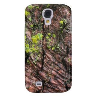 Moss on Bark Galaxy S4 Case