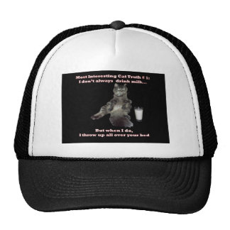 Most Interesting Cat 1 jpg Mesh Hat