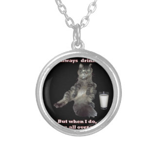 Most Interesting Cat 1 jpg Personalized Necklace
