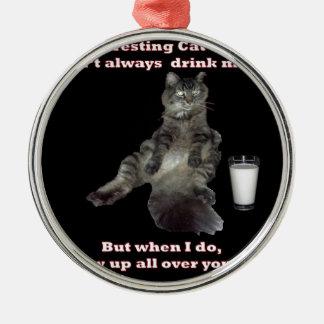 Most Interesting Cat 1 jpg Christmas Ornaments