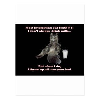 Most Interesting Cat 1 jpg Post Card