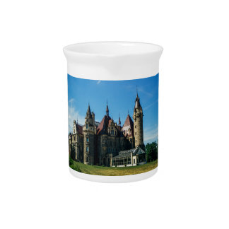 Moszna Castle in Poland, Architecture Photo Drink Pitchers