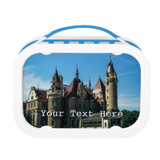 Moszna Castle in Poland, Architecture Photo Lunch Box