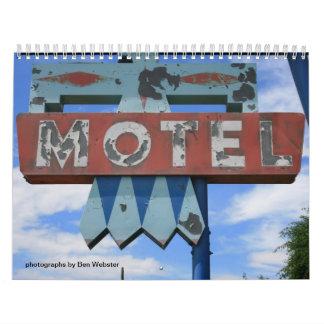Motel Calendar