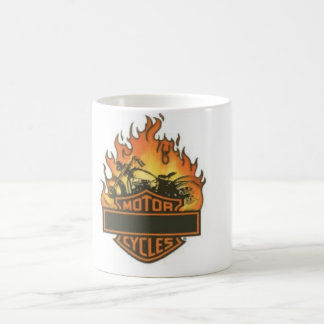 Moter cycles morphing mug