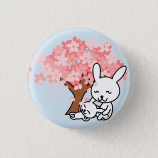 Mother and Child Bunny Pin