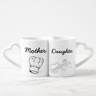 Mother and Daughter Mug Set