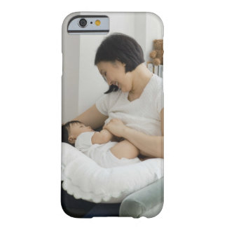 Mother breast feeding baby girl barely there iPhone 6 case