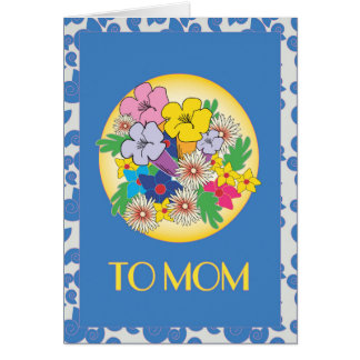 MOTHER DAY  SMALL GRETTING Card