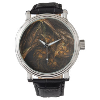 Mother Earth Abstract Art Watch