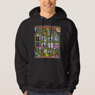 Mother EARTH People United Strength Brother NVN702 Hoodie