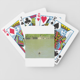 Mother Goose and her Babies Bicycle Playing Cards