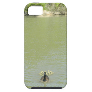 Mother Goose and her Babies Tough iPhone 5 Case