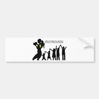 Mother Has To Fight For Her Kids Bumper Sticker