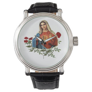Mother Mary designs Watch
