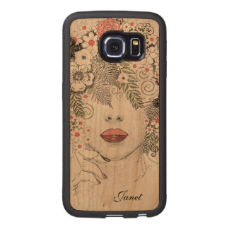 Mother Nature Abstract Wooden Samsung S6 Edge Case