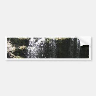 Mother Natures Peaceful Waterfall Bumper Sticker