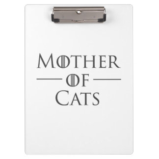 Mother of Cats Clipboard