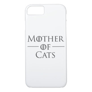 Mother of Cats iPhone 8/7 Case