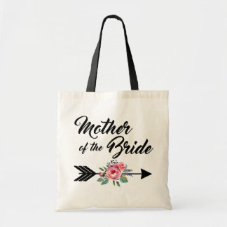 Mother of the Bride Arrow Tote Bag