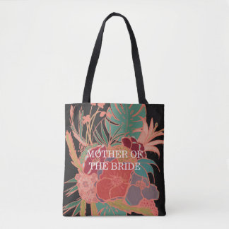 Mother of the Bride Gift Pattern Tote Bag