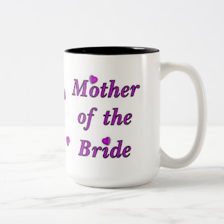 Mother of the Bride Simply Love Two-Tone Coffee Mug