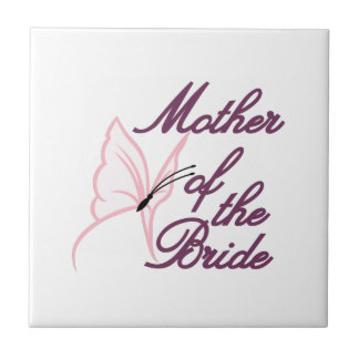Mother Of The Bride Small Square Tile